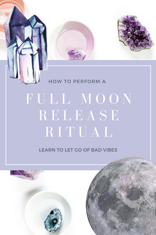 How to Perform a Full Moon Release Ritual + FREE Guided Meditation