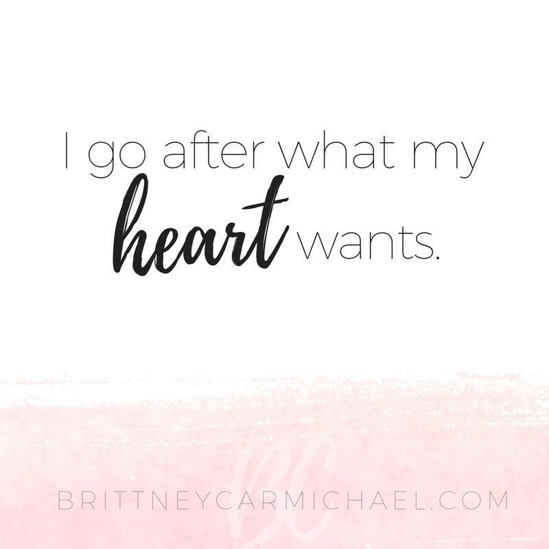 This Is Your Love Note To Remind You To Go After What Your HEART Wants.