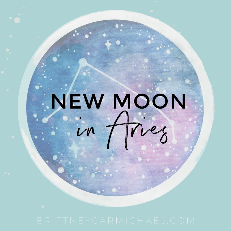 New Moon in Aries April 2019 | Embrace Your Truth - Brittney Carmichael