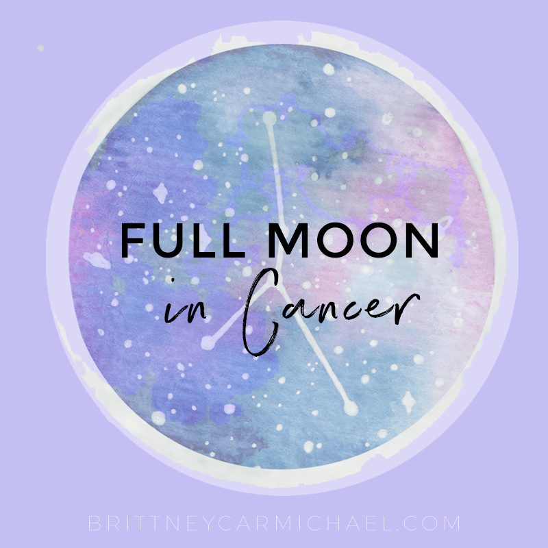 Full Moon Cancer December 2018
